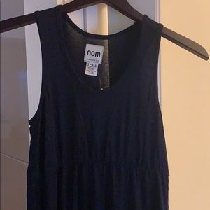 NOM maternity maxi dress XS NWT
